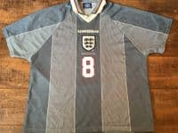 Classic Football Shirts | 1996 England Vintage Old Jerseys